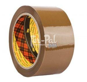 3M™ Scotch® Cinta de embalaje 309, PP BAJO RUIDO, Marrón