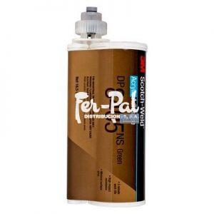3M™ Scotch-Weld™ Adhesivo acrílico DP8405NS, Verde, 490 ml